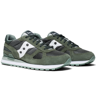 Мужские Кроссовки Saucony Shadow Original Green/White
