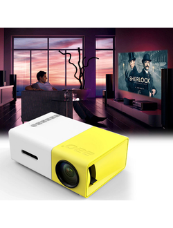 Мини-проектор Led Projector YG 300 Оптом