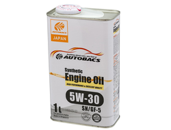 Масло моторное AUTOBACS Synthetic Engine Oil 5W-30 SN/GF-5 1л