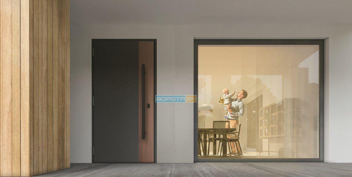теплые уличные двери для дома