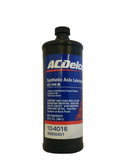 ACDelco Synthetic Axel Lubricant SAE 75W-90 (946_мл)