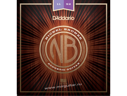 D'Addario NB1152 Nickel Bronze (11-52)
