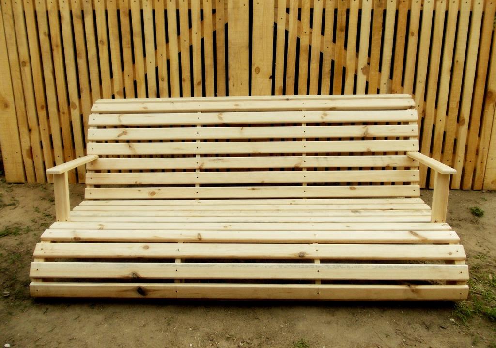 деревянная лавка