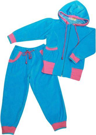 Костюм для девочки (Артикул 4131-122) цвет голубой