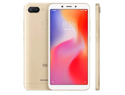 Смартфон Xiaomi Redmi 6 3/32GB Gold Золотой