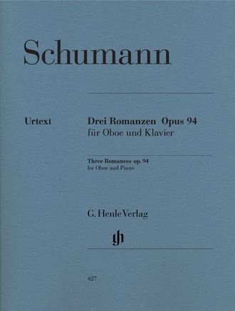 Robert Schumann Three Romances op. 94 for Oboe and Piano