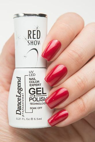 Gel Polish Red Is the New Red LE57