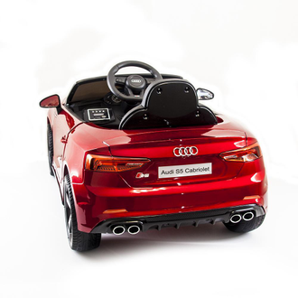 Audi S5 Cabriolet LUXURY 2.4G - Red - HL258-LUX-R
