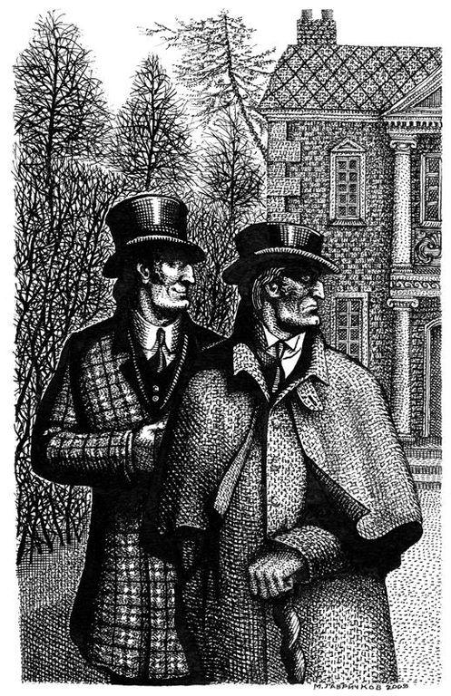 Шерлок холмс картинки из книги