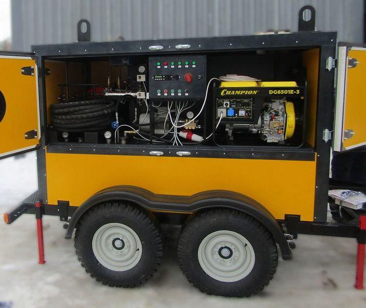 Парогенераторы дизельные мобильные для отогрева трубопроводов