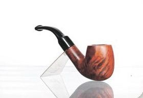 Трубка BPK Bonzo briar pipe 9 mm filter 73-65