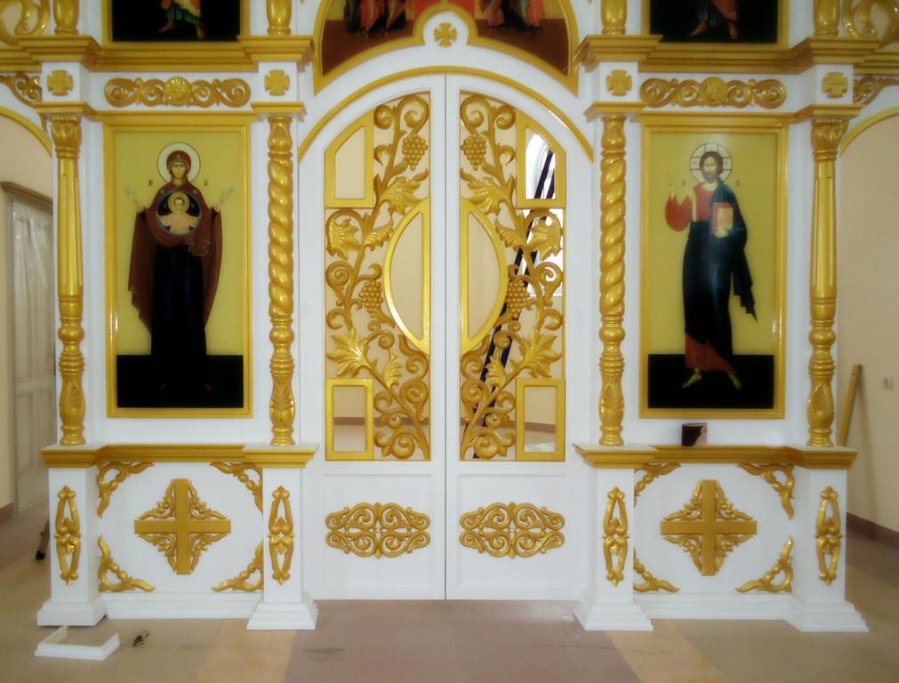 Купить резные царские врата, царские врата для иконостаса