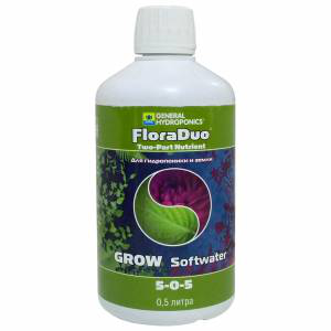 Flora Duo Grow soft water 0,5L