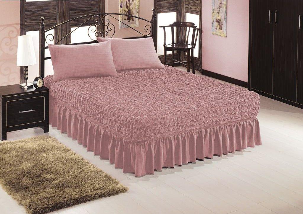 Чехол на кровать, Пудра 206