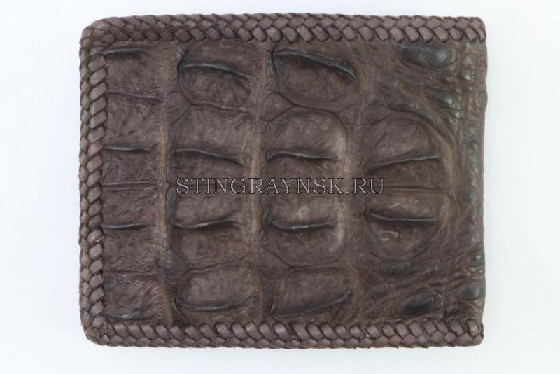 7159558d8cde Мужской кошелёк из кожи крокодила ручной работы   Интернет-магазин ...