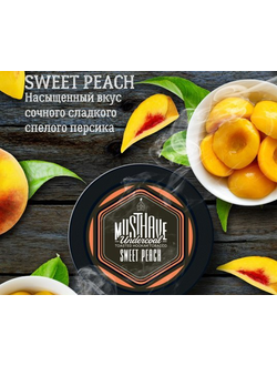Табак Must Have Sweet Peach (Персик)