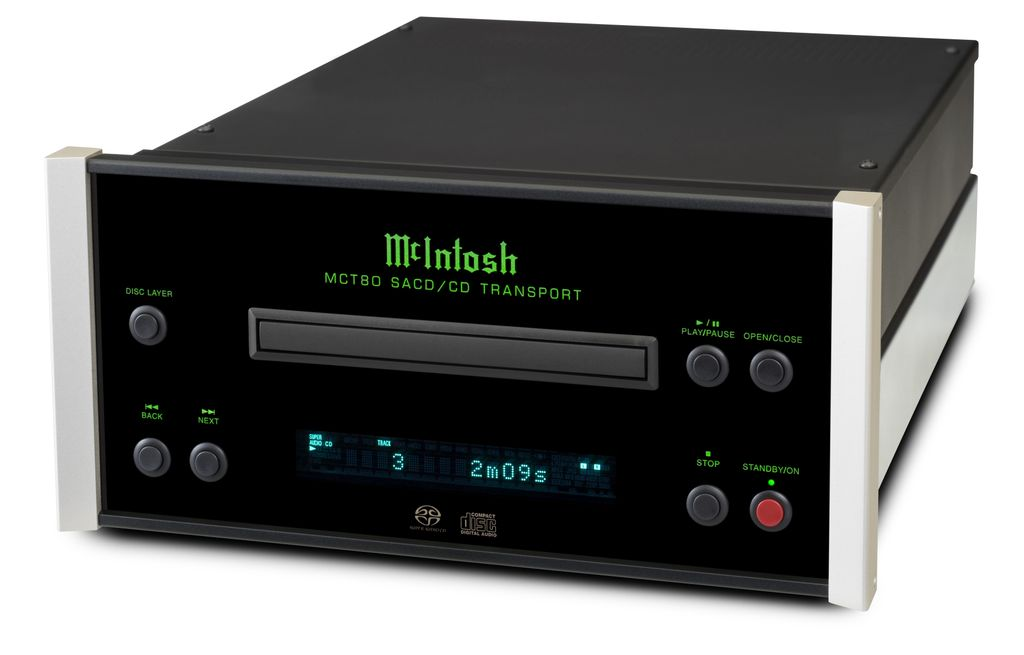 Компактный CD/SACD-транспорт Mcintosh MCT80