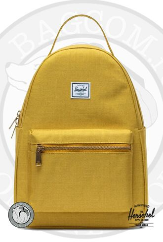 Herschel Nova Small Arrowwood Crosshatch (Горчичный)