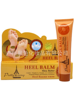 Крем для ног «анти-трещины» с маслом ши и витаминами Pretty Cromy Heel Balm Shea Butter CoQ10, Vitamin E, Vitamin A & Vitamin K Targeted Repair And Moisture Treatment.