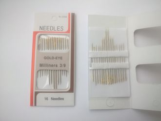 "Набор игл ""NEEDLES GOLD-EYE"" (16 шт)"