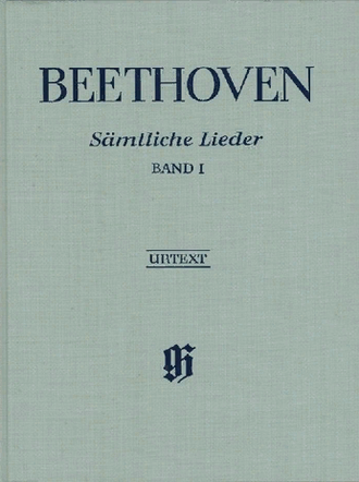 Beethoven  Complete Songs for Voice and Piano, Volume I