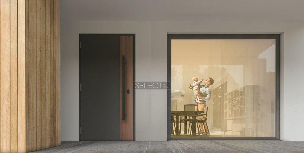 европейские двери с терморазрывом для дома