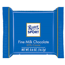 Ritter Sport Mini Fine Milk Chocolate (Молочный шоколад)