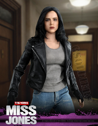 Джессика Джонс (Кристен Риттер, Марвел) Jessica Jones (Krysten Ritter, Marvel) (TW007) TOYS WORKS