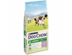 DOG CHOW ADULT СУХОЙ КОРМ ДЛЯ СОБАК, ЯГНЕНОК/РИС 14 КГ