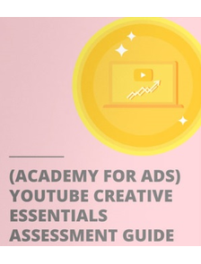YouTube creative essentials Answers 2018