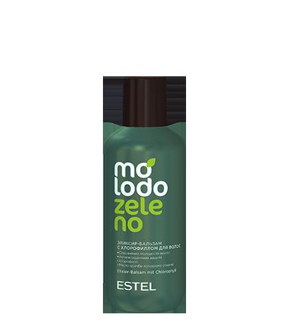 Эликсир-бальзам с хлорофиллом для волос MOLODO ZELENO 200 мл