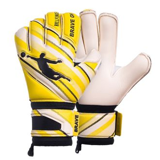 ПЕРЧАТКИ BRAVE PHANTOME ROLLFINGER YELLOW/WHITE