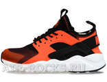 NIKE AIR HUARACHE ULTRA Black/Red (Euro 36-45) HR-093