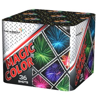 Батарея салютов MAGIC COLOR MC175-36 MAXSEM | Neva-Salut.com
