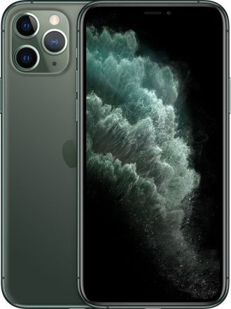 iPhone 11 Pro Max 512gb Midnight Green - MWHR2RU/A - Ростест