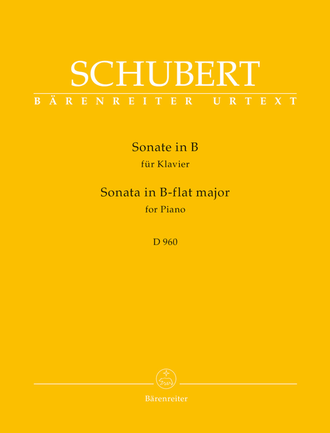 Schubert Sonate for Piano №21 B-flat major D 960
