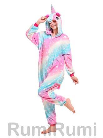 Пижама кигуруми Галактический Единорог купить по цене 2590 рублей 003ffe34a4361