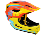 "ШЛЕМ FULLFACE -""S""- RAPTOR (ORANGE/YELLOW/BLUE)"