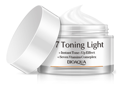BioAqua V7 Toning Light крем для лица на витаминной основе,50гр