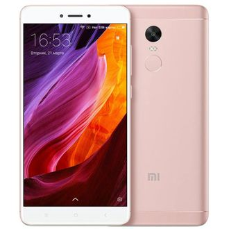 Xiaomi Redmi Note 4X 3/16Gb Pink (Global) (rfb)