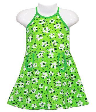 Сарафан (Артикул 5109-013) цвет зеленый
