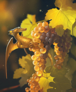Grape dragon Art by GaudiBuendia
