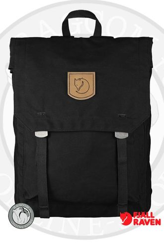 Fjallraven Foldsack No.1 Black. Интернет магазин Bagcom