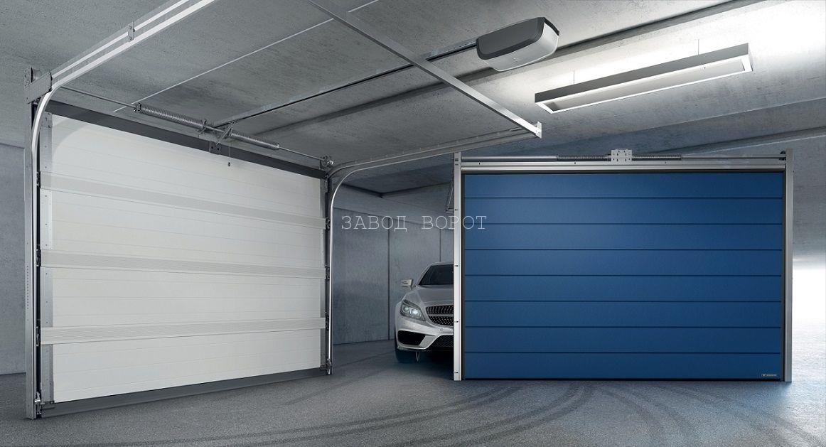 теплые гаражные ворота - изготовление ворот - Киев, Харьков, Одесса Днепр