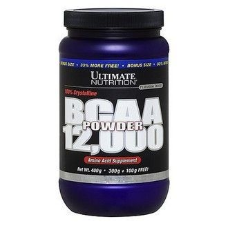 (Ultimate Nutrition) BCAA 12.000 Powder - (457 г) - (голубика)