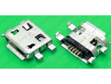 Разъем зарядки microUSB №18 Acer Iconia A1-830, A1-810, A1-811, B1-730, RoverPad Sky Q8 3G