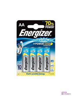 Батарейка Energizer Maximum+power boost АА