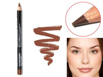 Карандаш для губ NYX Slim Lip Pencil 14 Rose Brown