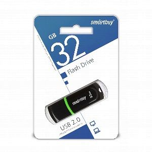 флешка Smartbuy 32GB Paean Black