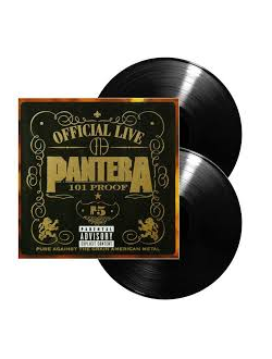PANTERA - Official Live: 101 Proof 2-LP